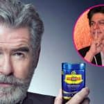 Shah Rukh Khan has an interesting take on Pierce Brosnan's ad for a paan masala brand