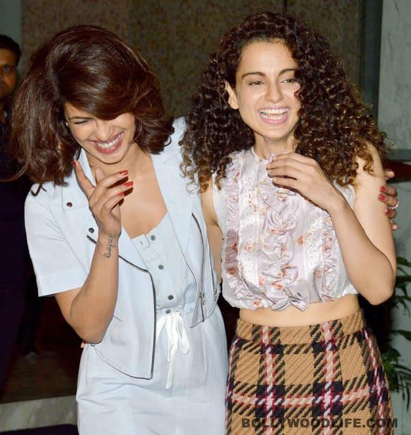 Kangana Ranaut thinks Priyanka Chopra has a fake laugh