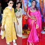 Kajol and Rani Mukerji soak in the Durga Puja festivities - view pics!