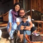 Aamir Khan's click with Kiran Rao and son Azad is PICTURE PERFECT