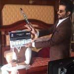 Anil Kapoor turns clap boy for Mubarakan, but where is Arjun Kapoor?