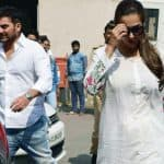 Malaika Arora Khan and Arbaaz Khan spotted at a family court - view HQ pics