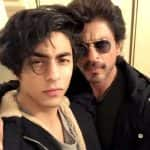 Shah Rukh Khan copies Aryan Khan's straight face expression and beats him - view pic