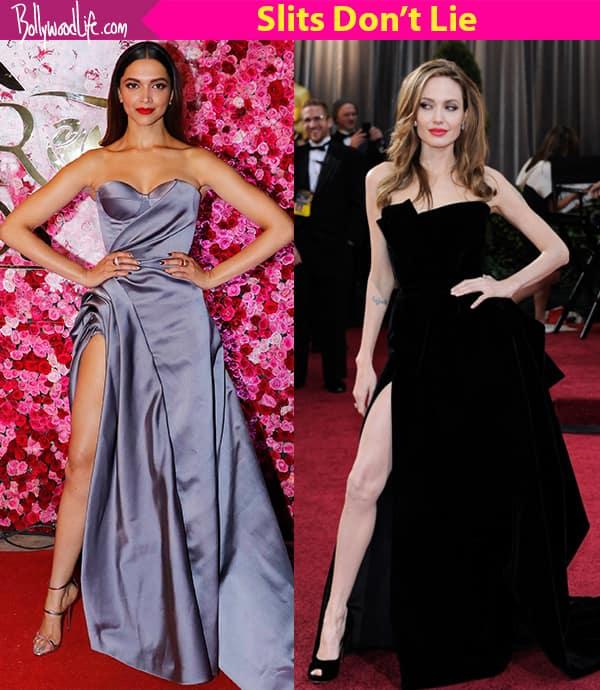 Not Deepika Padukone, but Angelina Jolie has made the thigh high ...