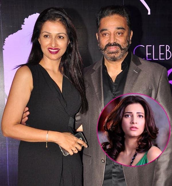 Shruti Haasan had something to do with the Gautami-Kamal Haasan split?