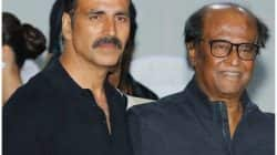 How did Akshay Kumar pamper Rajinikanth at the launch of 2.0's first look? Watch video