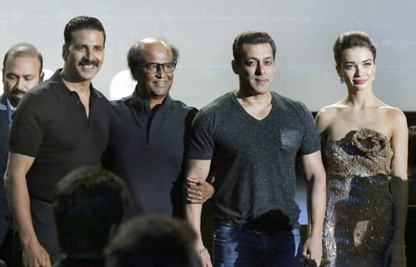 Salman Khan the uninvited guest, Akshay Kumar sidelined, Rajinikanth's rapid fire – 7 moments from 2.0 event you cannot miss!