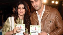 Can you decode Twinkle Khanna's joke on Ranbir Kapoor and sanitary napkins? – watch video