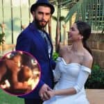 Ranveer Singh kisses Deepika Padukone as he heads to collect International Man of the Year Award - watch video