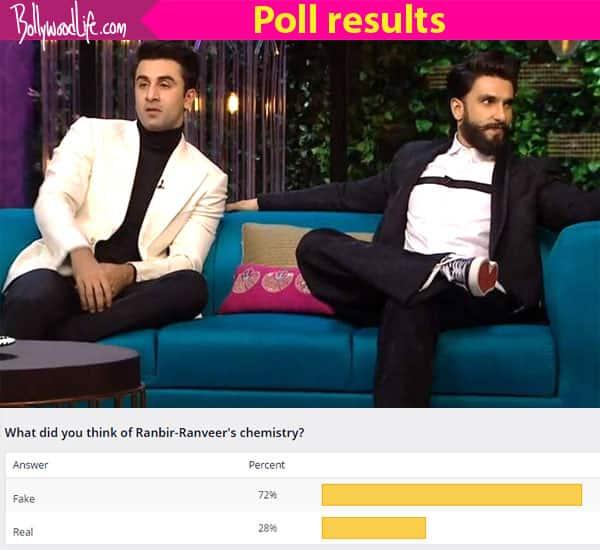 Ranbir Kapoor and Ranveer Singh's bromance was FAKE onKoffee with Karan think fans