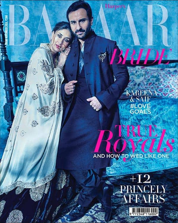 Kareena Kapoor Khan and Saif Ali Khan look ENCHANTING in their latest mag shoot!