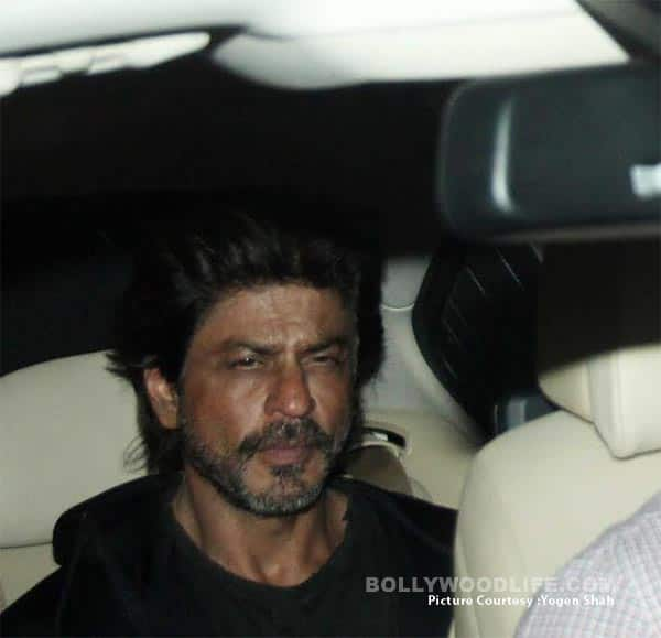 Shah Rukh Khan at Salman Khan's party (1)