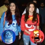 Alia Bhatt - Shaheen Bhatt twin as Anger - Sadness from Inside Out and we are so impressed - view HQ pics