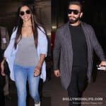 Ranveer Singh and Deepika Padukone avoid getting clicked together at the airport - view HQ pics
