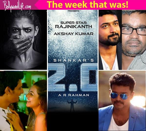 Rajinikanth – Akshay Kumar's 2.0 first look launch, Suriya-Selvaraghavan project – Meet the top 5 newsmakers of this week
