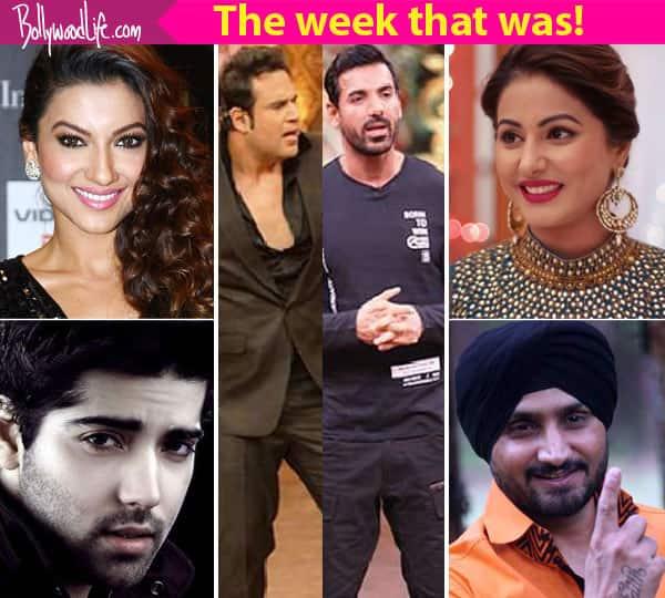 Krushna Abhishek, Gauahar Khan, Hina Khan – a look at TV's newsmakers this week!