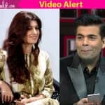 Twinkle Khanna asks Karan Johar about MNS and he relates it to PMS  - watch video