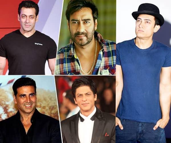 alman Khan, Akshay Kumar, Shahrukh Khan and Ajay devgan will have tough fight in 2017, Aamir will play fan's roll
