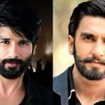 Shahid Kapoor finally opens up about Ranveer Singh being insecure of working with him in Padmavati