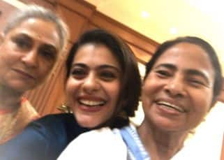 Kajol's selfie with Mamta Banerjee and Jaya Bachchan is totally adorable - view pic