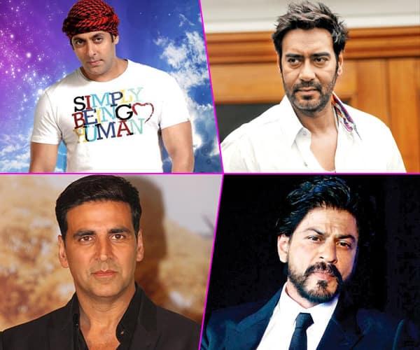 Salman Khan, Ajay Devgan, Akshay Kumar and Shahrukh Khan's big movie release in 2017