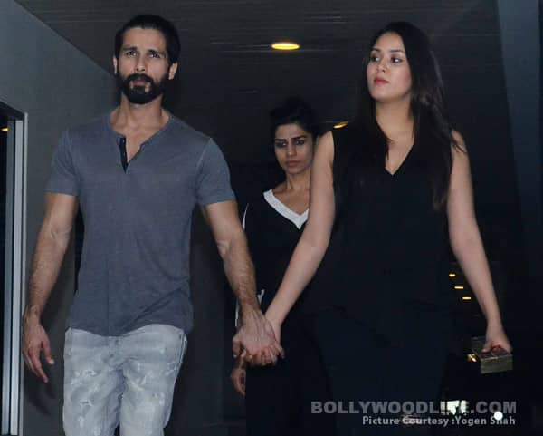 Shahid Kapoor and Mira Rajput go on a dinner date without baby Misha – view HQ pics