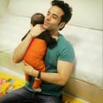 Tusshar Kapoor's picture with son Laksshya is simply adorable