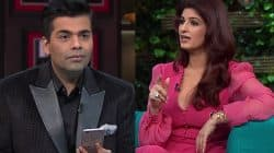Twinkle Khanna leaves Karan Johar stumped after asking him to chose between Salman, Shah Rukh and Fawad Khan – watch video