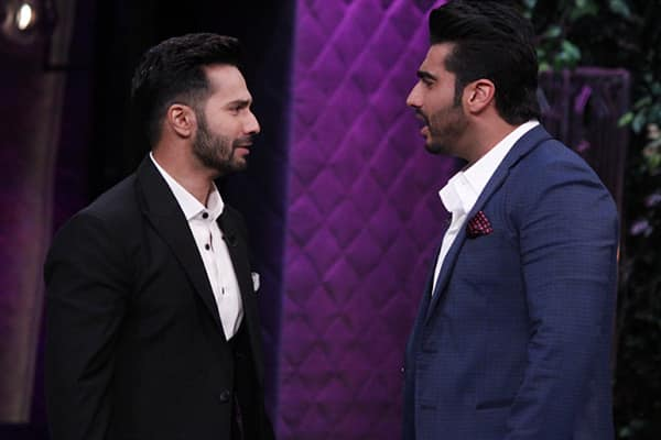7 revelations made by Varun Dhawan and Arjun Kapoor on Koffee with Karan that will leave you STUNNED!