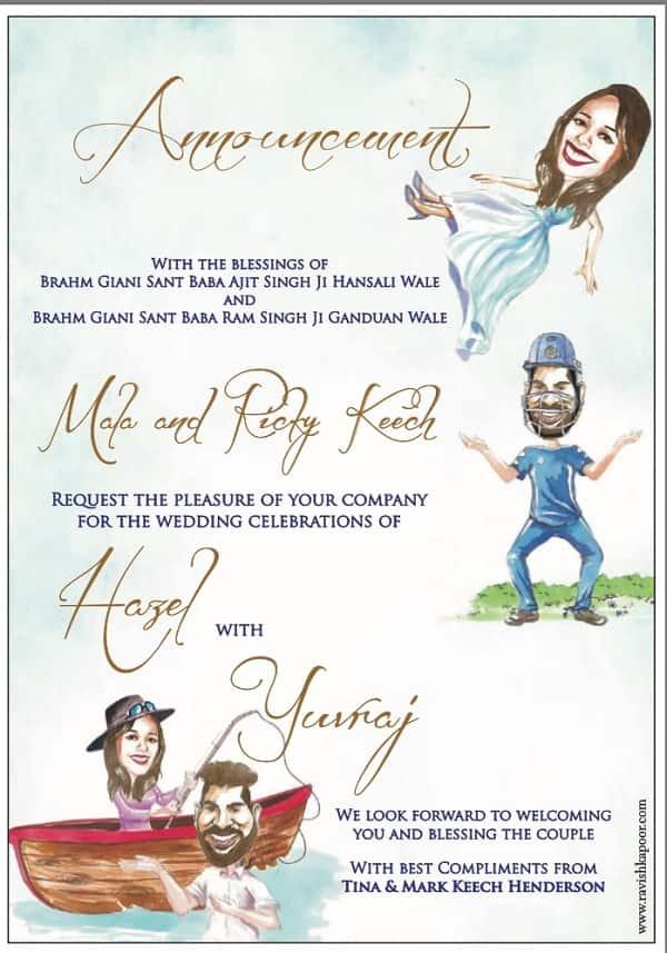 Yuvraj Singh and Hazel Keechs wedding A sneak peek into their