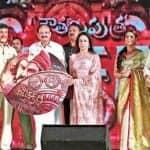Audio of Nandamuri Balakrishna's 100th film launched by Andra Pradesh CM in Tirupati