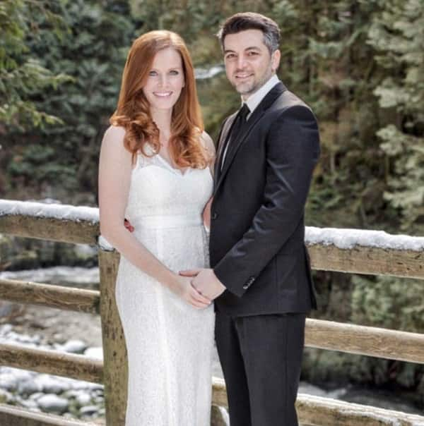 Once Upon A Time actress Rebecca Mader marries longtime beau Marcus Kayne