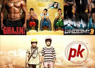 Ghajini, 3 Idiots, Dhoom 3, PK - Take a look at the biggest hits of Aamir Khan