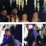 Anushka Sharma and Virat Kohli pose with the newlyweds Yuvraj Singh and Hazel Keech - view pics