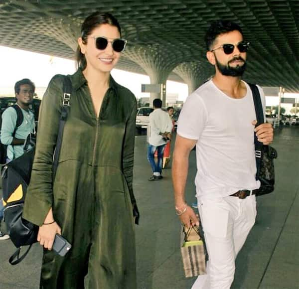 Anushka Sharma flies with boyfriend Virat Kohli to Goa for Yuvraj Singh's wedding!