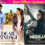 Alia Bhatt's Dear Zindagi DEFEATS Sonam Kapoor's Neerja in the second weekend