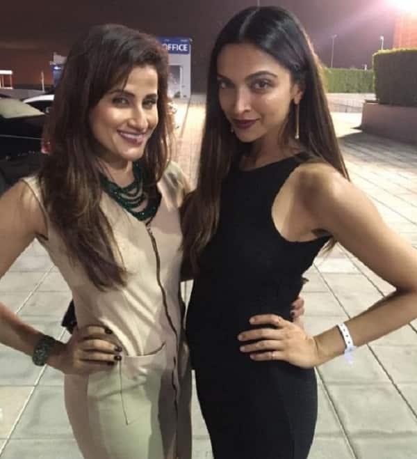 Deepika Padukone and Yasmin Karachiwala look ultra glam as they party in Dubai – view pics!