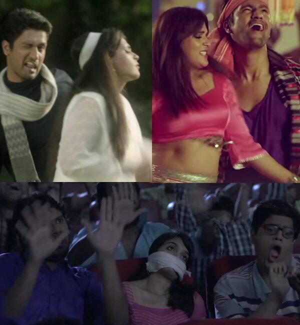 Vicky Kaushal and Richa Chadda's comic stance on harassment in Bollywood will shame Shah Rukh Khan, Varun Dhawan's songs