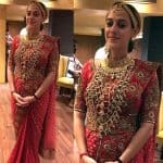 EXCLUSIVE: Hazel Keech turns into a RED HOT bride for her Goa wedding - view pic