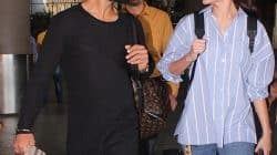 Anushka Sharma and Virat Kohli are lost in each other's eyes at the airport – view HQ pics