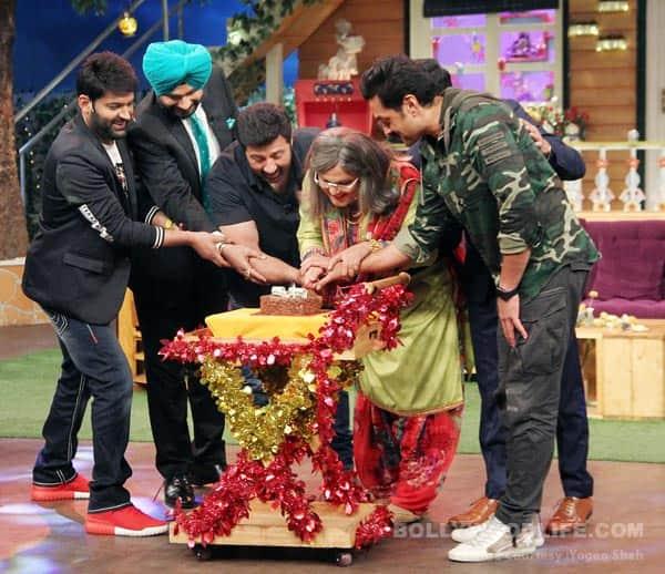 When team Kapil Sharma played a prank on Ali Asgar – view HQ pics!