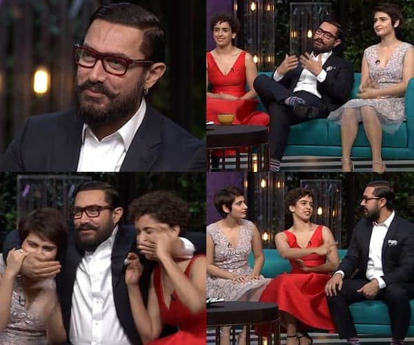 Koffee with Karan season 5, Episode 7 preview: Aamir Khan and the Dangal daughters promise a crazy episode