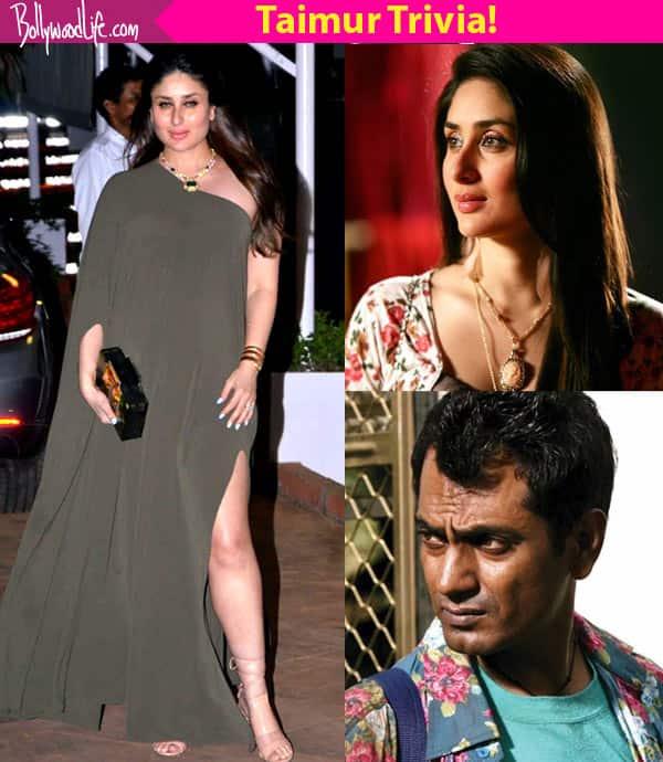Did you know? Kareena Kapoor Khan's baby boy's Nawazuddin Siddiqui connect