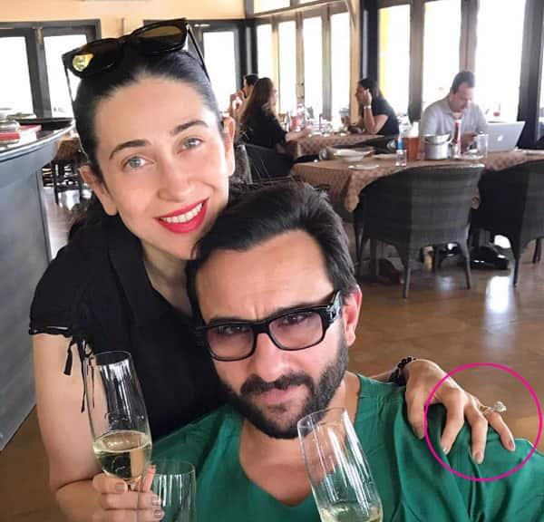 Is Karisma Kapoor secretly engaged?