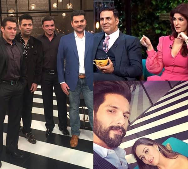 Mira Rajput, Twinkle Khanna, Salman Khan's brothers – meet the debutants of Koffee with Karan season 5