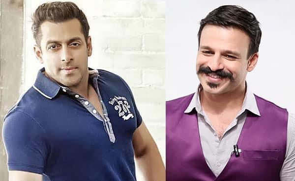 Salman Khan bumps into Vivek Oberoi at Shah Rukh Khan's house and things nearly got UGLY