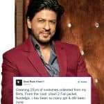 Shah Rukh Khan goes on a cleaning spree but discovers nostalgia in the process