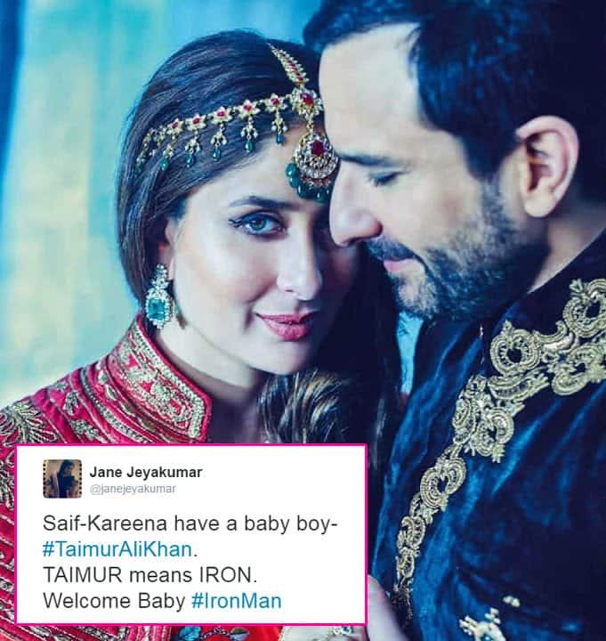 Kareena Kapoor Khan and Saif Ali Khan's son Taimur Ali Khan has already become a rage on Twitter