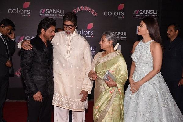 Shah Rukh Khan, Aishwarya Rai Bachchan, Amitabh Bachchan Stardust Awards 2
