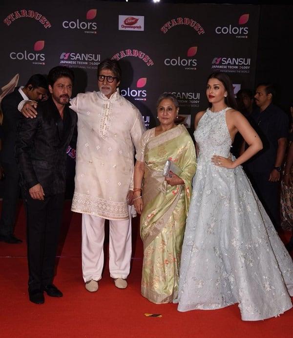 Shah Rukh Khan, Aishwarya Rai Bachchan, Amitabh Bachchan Stardust Awards 3
